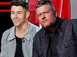 The Voice: Blake Shelton gets hailed as 'the king' of one-chair turns and Nick Jonas copies his move