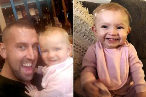 Dad found guilty of shaking 14-month-old baby girl to death in violent temper