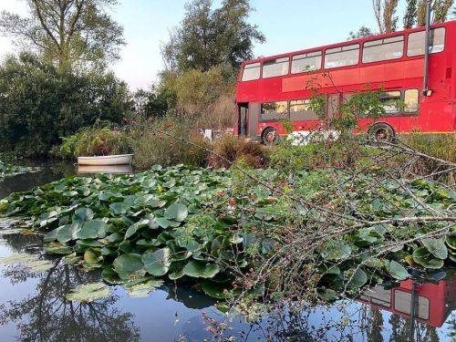 Couple turn £2,500 London double-decker bus into luxury home