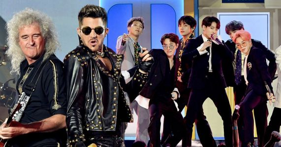 Queen 'welcome' the K-pop revolution and admit that BTS are an inspiration