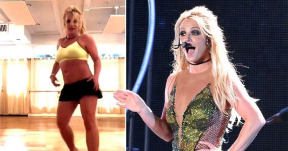 Oops! Britney Spears shares grim moment you can hear her foot break in energetic dance video