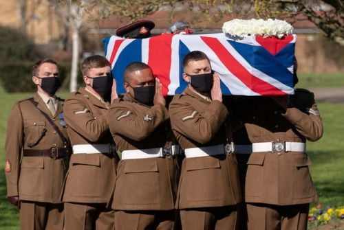 Captain Sir Tom Moore: Family Pay Tribute To 'Beacon Of Light' At Funeral