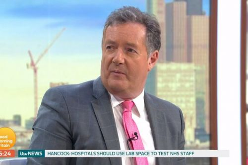 Piers Morgan sets up emergency GMB studio at home in case he has to self-isolate