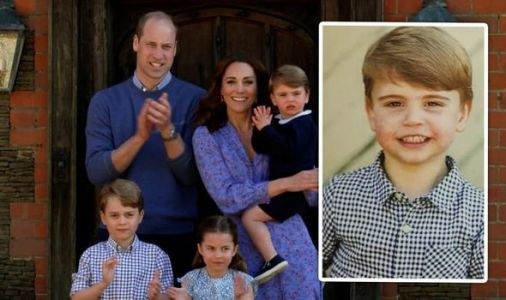 Kate releases unseen picture of smiling Prince Louis - thanks fans for birthday wishes