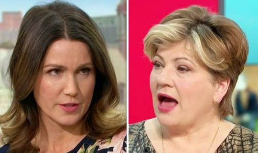 Emily Thornberry put on the spot as Susanna Reid asks 'why is Jeremy Corbyn still here?'