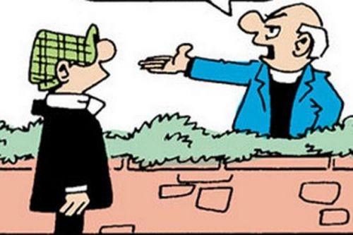 Andy Capp - 22nd October 2018
