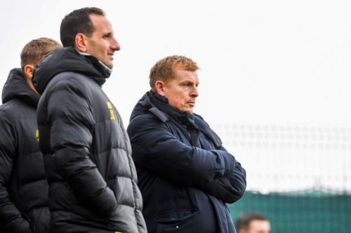 Chris Sutton accuses Neil Lennon's staff of 'running for the hills'