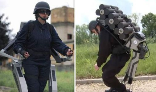 French secret weapon? How exoskeleton will give soldiers 'super strength' in battle