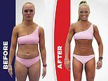 Men and women show off their incredible new year bodies after just EIGHT weeks of training