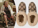 Gucci are charging £610 for pair of furry slippers very similar to Catherine Tate's Nan