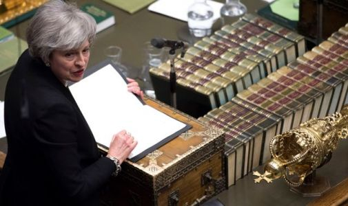 Theresa May tells MPs to 'hold our nerve' ahead of new chance to take control of Brexit