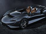 McLaren $1.7 million super car inspired by 1960s roadster has no roof and a windshield is optional