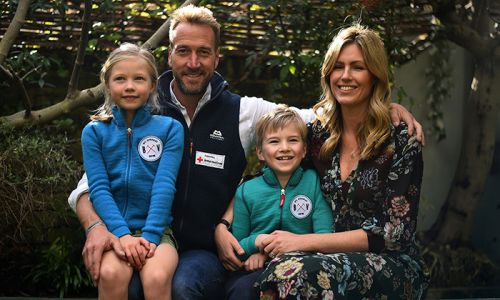 Ben Fogle's family photo album: see sweet snaps of the presenter's loved ones