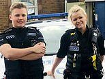 Son joins police force where mother has been catching criminals