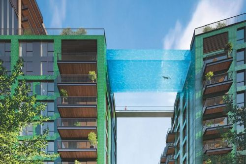 World's first see-through Sky Pool built 115ft above ground to open next month
