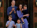 Prince William and Kate take their children Charlotte, George and Louis on staycation