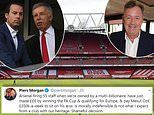 Arsenal's 'shameful decision' to make 55 staff redundant slammed by Piers Morgan