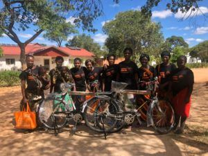 Solar Rollers cycling to reach Zambia's rural areas