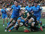 Northampton 16-43 Leinster: Saints hit the wrong note as Leinster stay top of Champions Cup Pool One