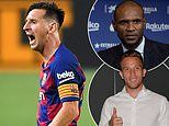 Lionel Messi is going NOWHERE yet. he's fuming at Barcelona but has chance to leave on a high