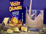 Violet Crumble set to launch a new chocolate honeycomb flavoured milk