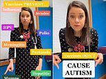 Pediatrician gets DEATH THREATS after posting video on TikTok saying vaccines don't cause autism