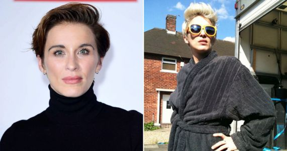 Line of Duty's Vicky McClure goes bright blonde and this is our fave lockdown transformation yet