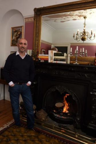 The story of why one man swapped Paris for Fraserburgh and rescued a former manse from disrepair