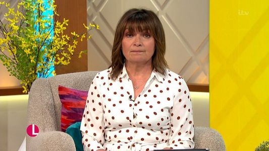 Lorraine Kelly forced to apologise after viewers spot on-air blunder and jokes 'the person responsible has been flogged'