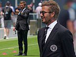 David Beckham looks dapper ahead of Inter Miami's first match of season against LA Galaxy