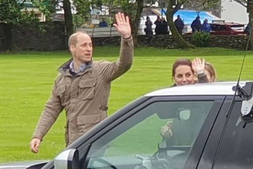 Kate Middleton and William spotted taking secret break from visit to enjoy romantic lunch