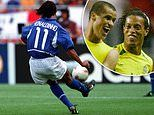 'He tried to surprise him: Rivaldo says Ronaldinho MEANT to lob David Seaman at the 2002 World Cup