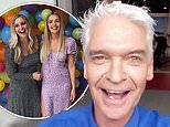 Phillip Schofield's daughter Molly celebrates her birthday weekend at home