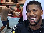 Is this the 'chubby' sparring partner Anthony Joshua is working with to replicate Andy Ruiz Jnr?