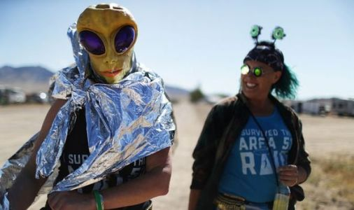 Area 51 raid in pictures: The best photos from the failed Storm Area 51 raid last night