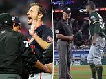 Strip search! MLB's crackdown on grip enhancers leaves Nats' Scherzer and Athletics' Romo fuming