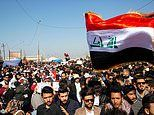 Three rockets 'score direct hits on the US embassy in Baghdad'
