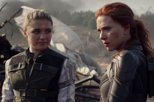 "Scarlett Johansson ""passing the baton"" to Florence Pugh as Black Widow"