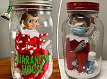 Parents are putting their children's Elf on the Shelf dolls in QUARANTINE for 14 days