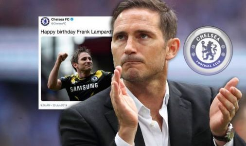Chelsea fans in meltdown after Frank Lampard tweet from official account - 'Announce it'