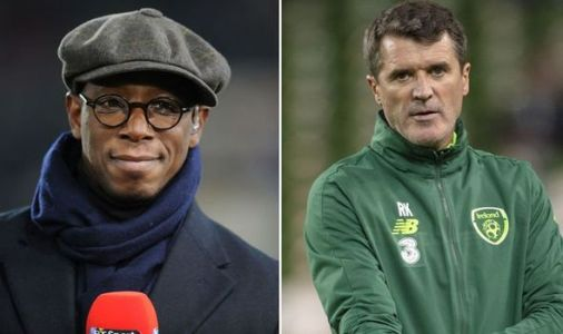 Arsenal hero Ian Wright delivers verdict after Roy Keane tells Man Utd to sign Harry Kane