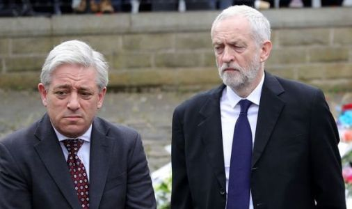 'I am disgusted!' Britons furious at Corbyn's plot to get John Bercow in House of Lords