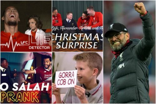 16 Liverpool videos for Kop Kids: From pranks to surprises and lots of laughs