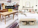 How mum transformed the popular $99 Target bench into the ultimate bedroom decor