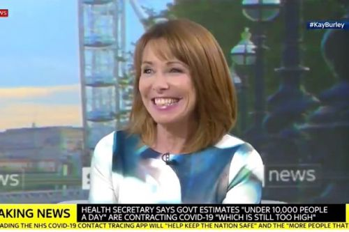 Kay Burley and Matt Hancock accused of flirting over casual sex ban
