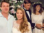 Bindi Irwin reveals her wedding gown was a tribute to mother Terri's wedding dress