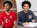 Bayern Munich officially confirm £55m capture of Leroy Sane who puts pen to paper of five-year deal