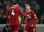 Wolves 1-2 Liverpool: Roberto Firmino's late stunner wins it for Jurgen Klopp's men