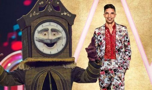 The Masked Singer: Grandfather Clock's identity 'exposed' as David James in costume clue