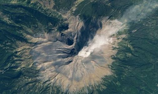 NASA satellite images show 'outburst' of steam from huge volcano in Mexico